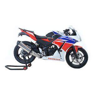 2017-2018 Honda Grom Vortex Racing Front Fluid Brake Reservoir Cap Cover SILVER