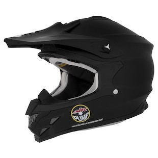Scorpion VX-34 Helmet Matte Black / LG [Blemished - Very Good]