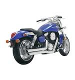 Vance & Hines Big Shots Staggered Exhaust Kawasaki Vulcan Mean Streak VN1600B / Suzuki Marauder VZ1600