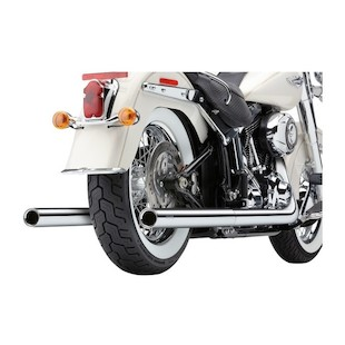 Cobra Dual Exhaust For Harley Softail 2007-2011