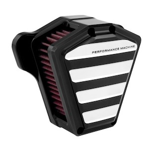 Performance Machine Drive Air Cleaner Intake For Harley