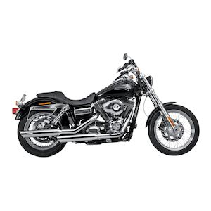 Akrapovic Slip-On Slash-Cut Mufflers For Harley Dyna 2006-2017