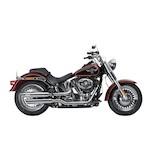 Akrapovic Slip-On Slash-Cut Mufflers For Harley Softail 2007-2017