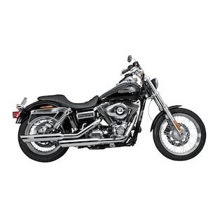 Akrapovic Slip-On Slash-Cut Mufflers For Harley