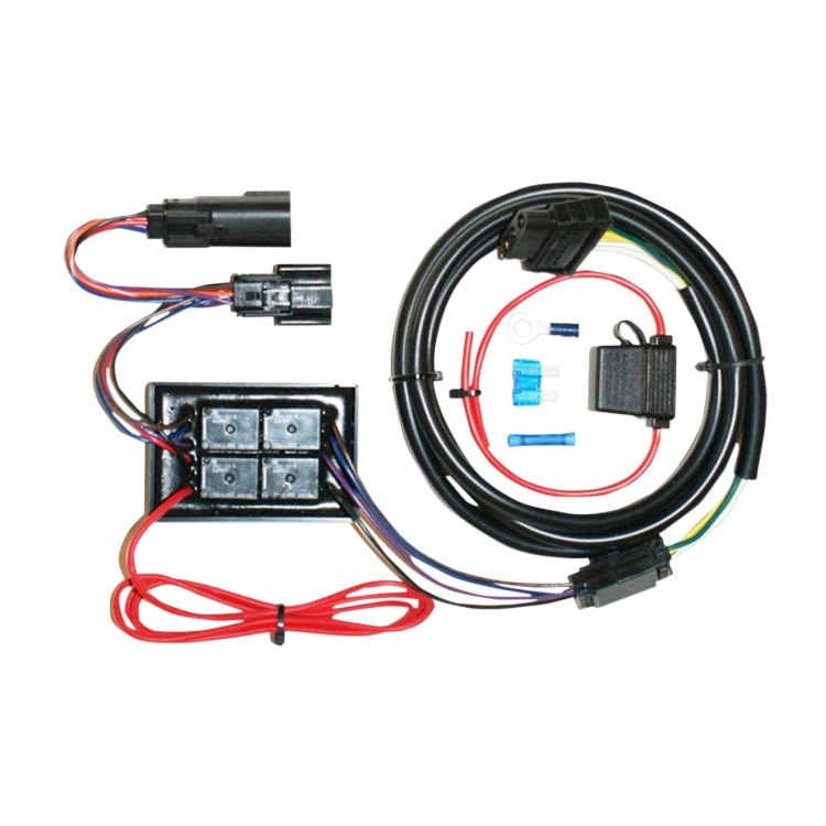 Fine Khrome Werks Plug Play Trailer Wiring Harness Kit For Harley Wiring Cloud Mangdienstapotheekhoekschewaardnl