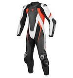 Dainese Aero EVO C2 Race Suit Black/White/Fluo Red / 56 [Blemished - Very Good]