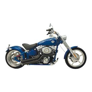 Supertrapp Exhaust Mean Mothers Side Swipes For Harley Rocker 2008-2011