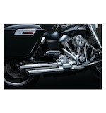 Crusher Power Cell Staggered Dual Exhaust System For Harley Dyna 2006-2015