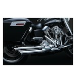 Crusher Power Cell Staggered Dual Exhaust System For Harley