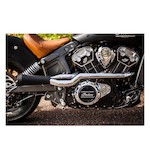 Trask 2-Into-1 Exhaust System For Indian Scout 2015-2017