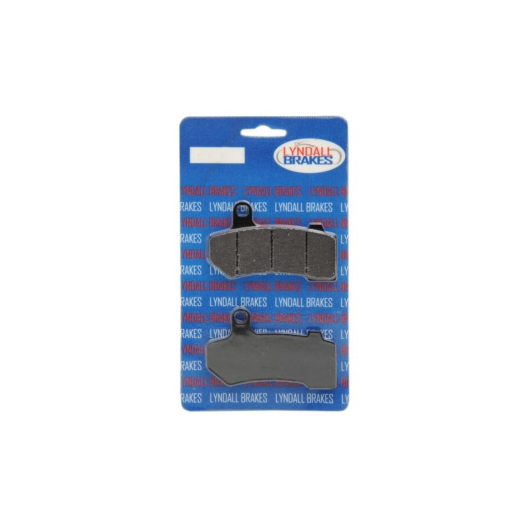 Lyndall Brakes X-Treme Performance Front / Rear Brake Pads For Harley Touring / V-Rod 2008-2019