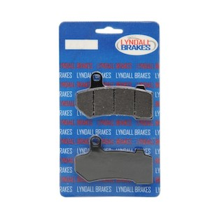 Lyndall Brakes X-Treme Performance Front / Rear Brake Pads For Harley Touring / V-Rod 2008-2017