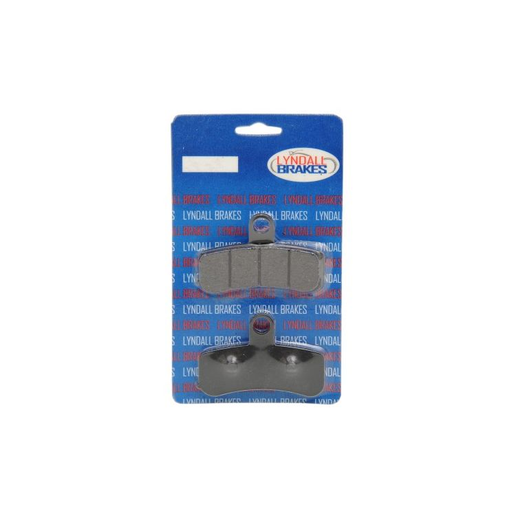 Lyndall Brakes X-Treme Performance Front Brake Pads For Harley Softail / Dyna 2008-2017