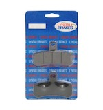 Lyndall Brakes X-Treme Performance Front Brake Pads For Harley Softail / Dyna 2008-2015