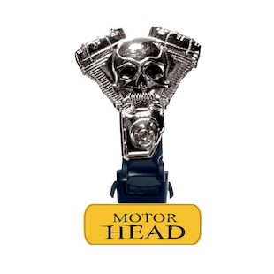 Biker Boot Straps Motor Head Straps