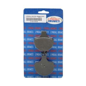 Lyndall Brakes X-Treme Performance Front Brake Pads For Harley Big Twin / Sportster 1984-2011