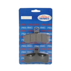 Lyndall Brakes X-Treme Performance Front Brake Pads For Harley