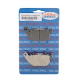 Lyndall Brakes X-Treme Performance Rear Brake Pads For Harley Sportster 2004-2013