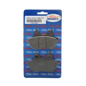 Lyndall Brakes X-Treme Performance Rear Brake Pads For Harley