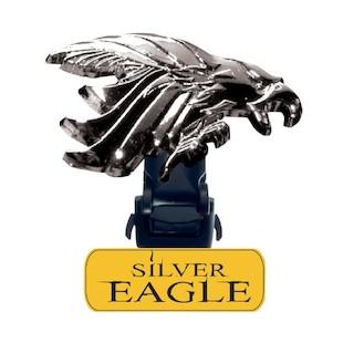 Biker Boot Straps Silver Eagle Straps