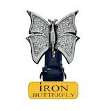 Biker Boot Straps Iron Butterfly Straps