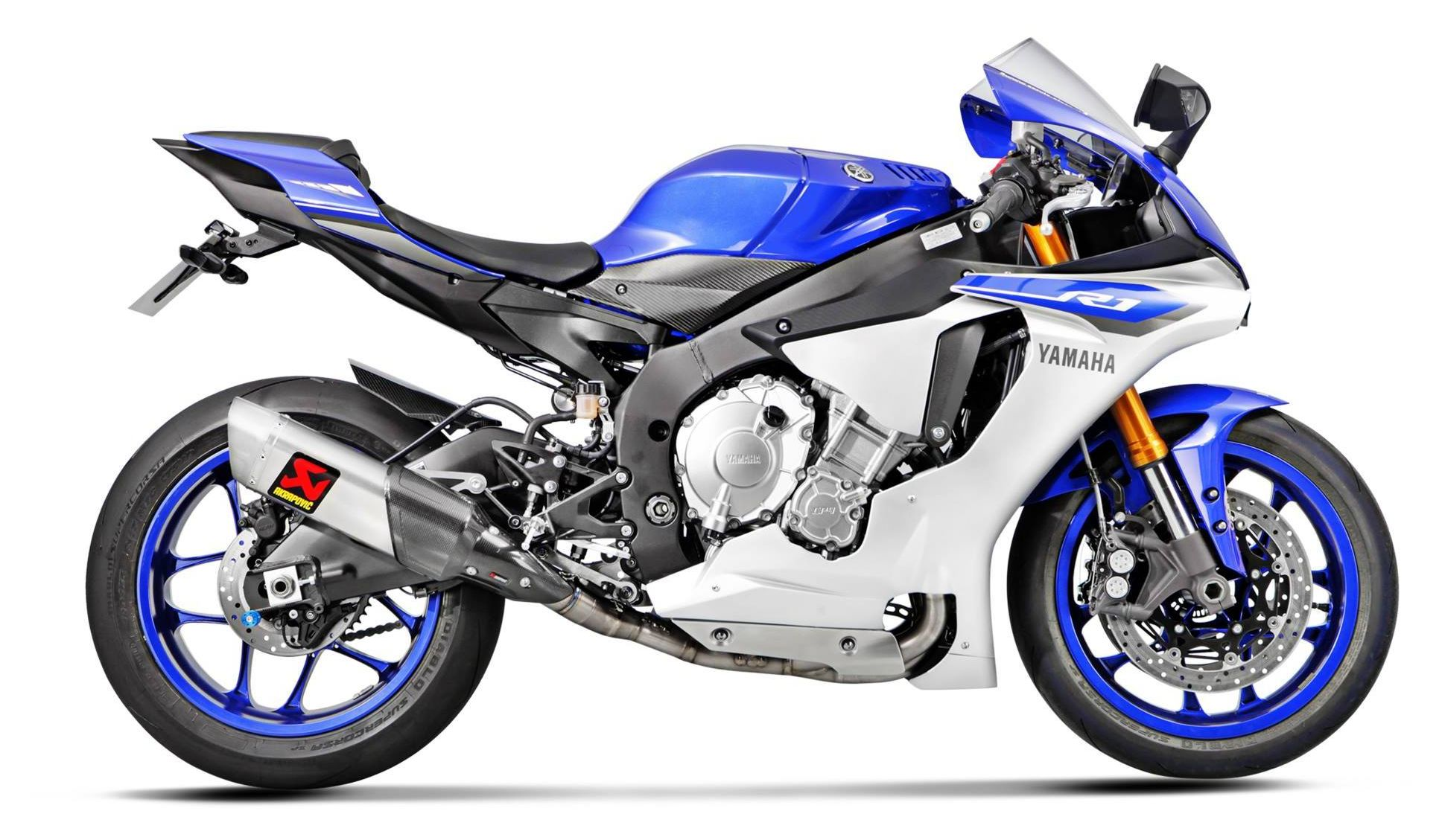 Akrapovic Evolution GP Exhaust System Yamaha R1 R1M 2015 2018