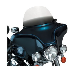 "Memphis Shades Replacement Windshields For Harley Touring 1996-2013 Gradient Black / 12"" [Previously Installed]"