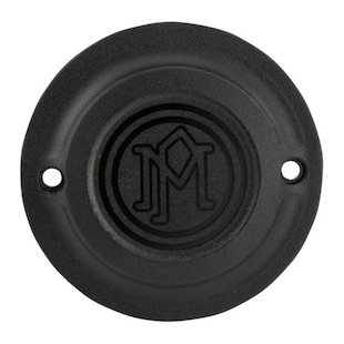 Performance Machine Points Cover For Harley Big Twin 1970-1999 Black Ops [Open Box]