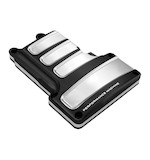 Performance Machine Scallop Transmission Top Cover For Harley Twin Cam 6-Speed 2006-2015 Platinum Cut... [Open Box]