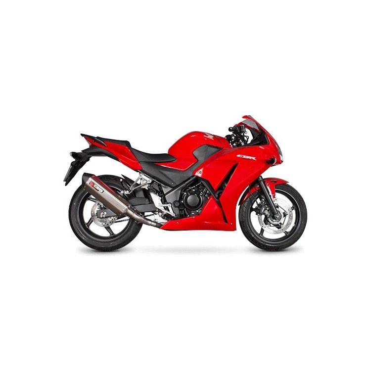Scorpion Serket Parallel Slip-On Exhaust Honda CBR300R / CB300F 2015-2018