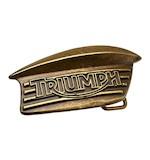 Triumph Bonneville Tank Badge Buckle