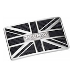 Triumph Carbon Union Flag Buckle