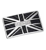 Triumph Carbon Union Flag Buckle