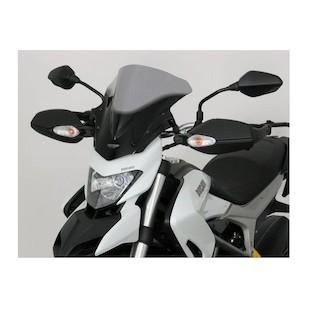 MRA Double-Bubble RacingScreen Windshield Ducati Hyperstrada 2013-2015