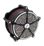 Roland Sands Venturi Hutch Air Cleaner For Harley Touring And Softail 2008-2016