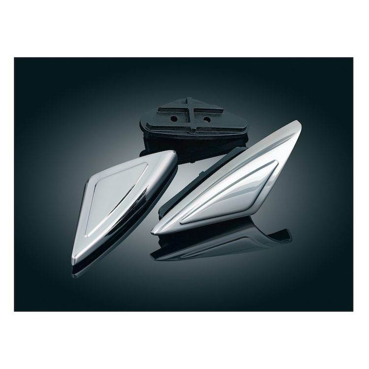 Kuryakyn Shark Tooth Front Fender Accent For GoldWing GL1800 2001-2015