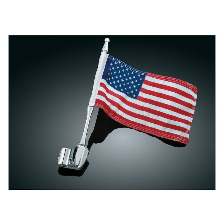 Kuryakyn Antenna Mount With Flag For Honda GoldWing GL1800 2001-2015