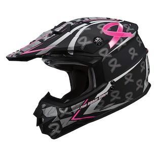 GMax GM76X Pink Ribbon Helmet (Size XL Only)
