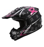 GMax GM76X Pink Ribbon Helmet (Size XL Only)