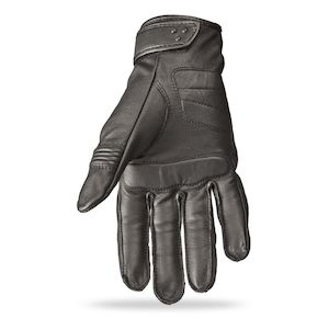 Choose Size HIGHWAY 21 Ladies VIXEN Touchscreen Leather Riding Gloves Black