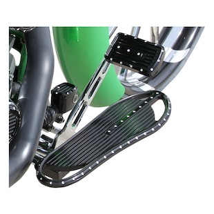 Covingtons Dimpled Driver Floorboards For Harley 1984-2017