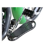 Covingtons Dimpled Driver Floorboards For Harley 1984-2016