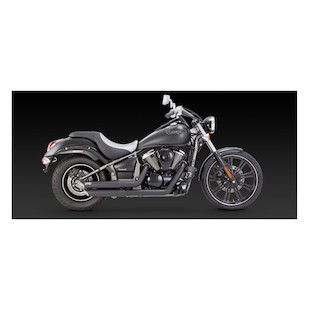 Vance & Hines Twin Slash Staggered Exhaust