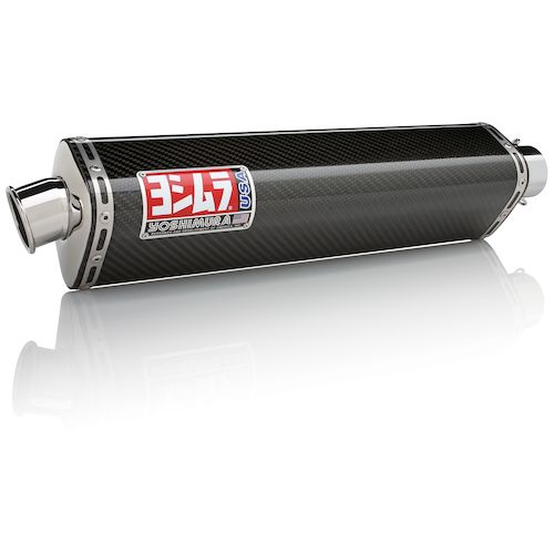 Yoshimura trs street slip on exhaust yamaha r6 1999 2002 for Yamaha r6 carbon fiber exhaust