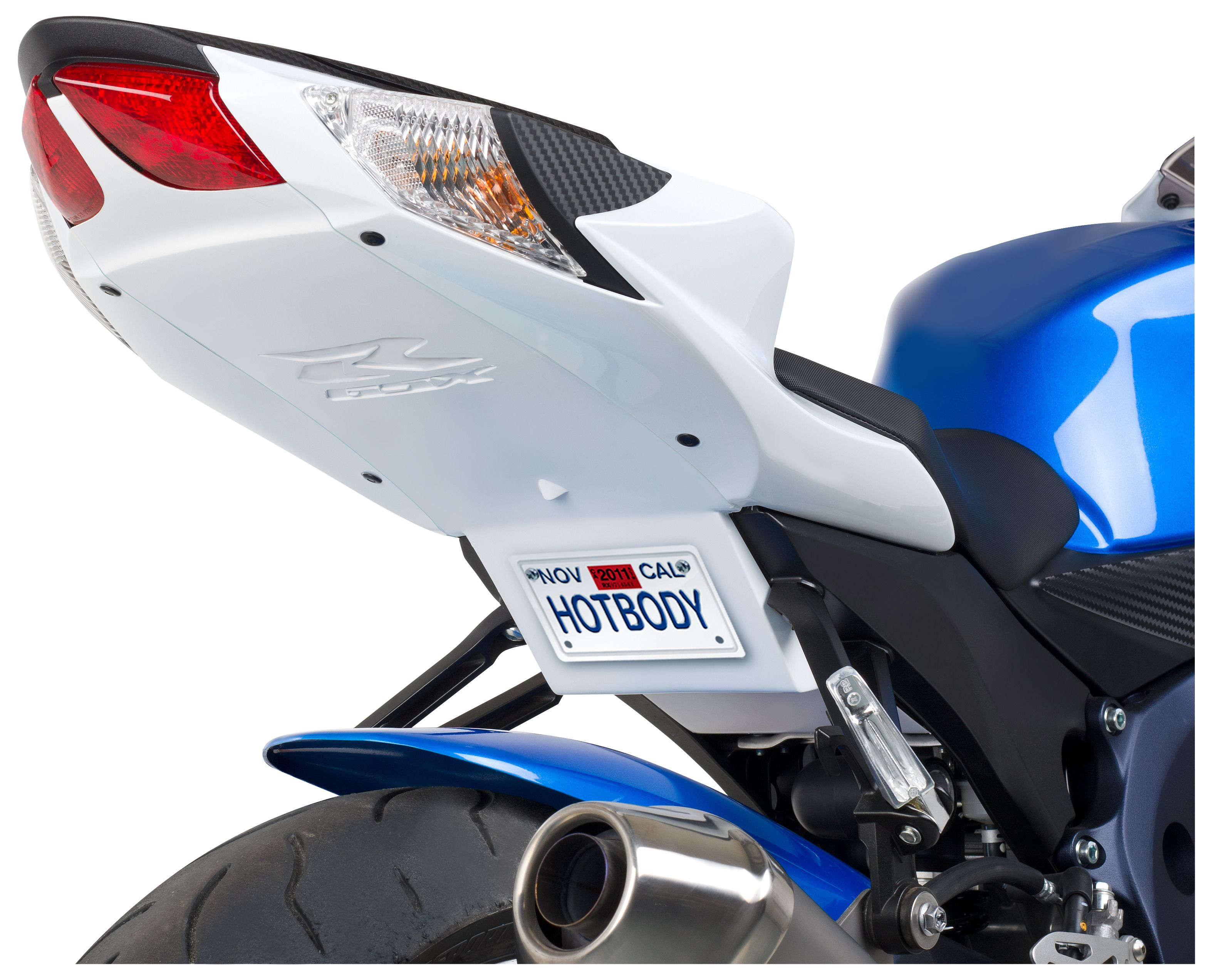 Hotbodies Supersport Undertail Kit Suzuki Gsxr 600 Gsxr