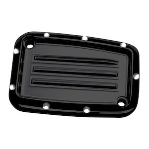 Covingtons Dimpled Hydraulic Clutch Master Cylinder Cover For Harley Touring