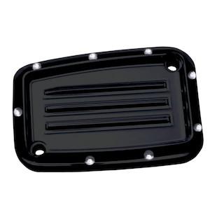 Covingtons Dimpled Front Brake Master Cylinder Cover For Harley