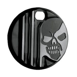 Covingtons Machine Head Fuel Door Cover For Harley Touring 1992-2007