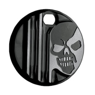 Covingtons Machine Head Fuel Door Cover For Harley Touring 2008-2017