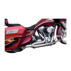 Covingtons Destroyer 2-Into-1 Exhaust For Harley Touring 1995-2016